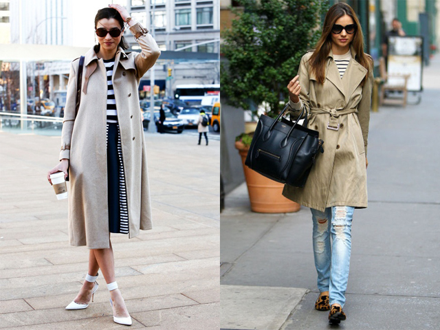 tendance trench coat