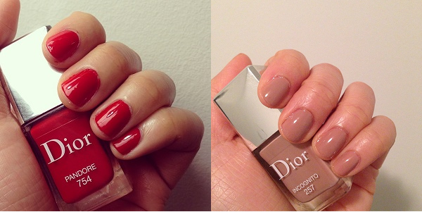 Dior Couture Colour Gel Shine and Long Wear Nail Lacquer