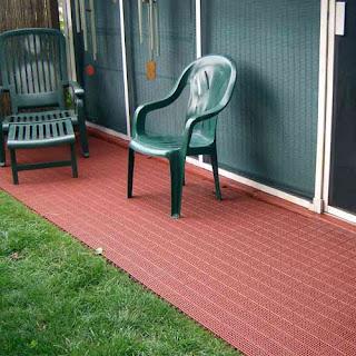 Greatmats patio outdoor tile small patio