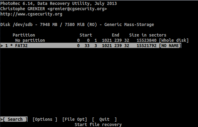 filesystem pada linux