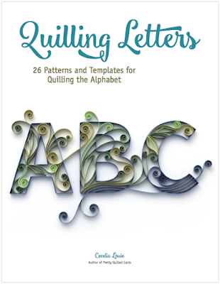 Quilling Letters E-book of Patterns and Templates