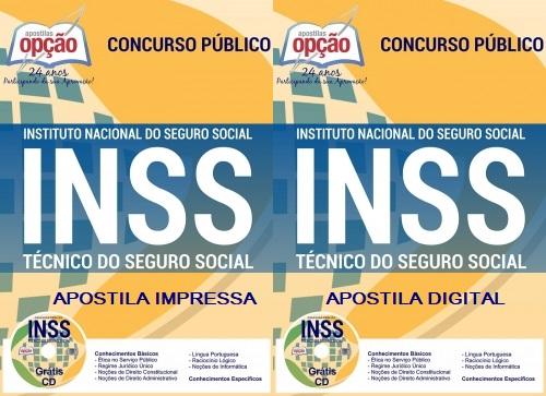 apostila pdf INSS 2018 Técnico do Seguro Social