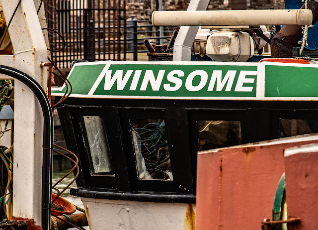 Photo of Winsome in Maryport Harbour