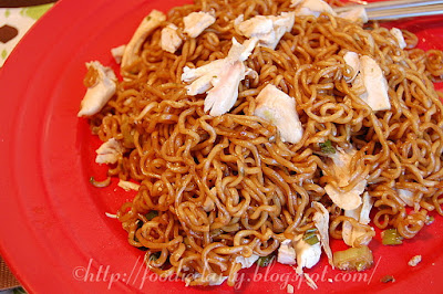 Instant Chicken Lo Mien Recipe