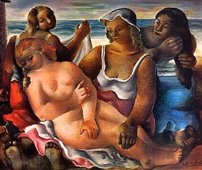Nascimento de Vênus - Di Cavalcante e suas principais pinturas ~ Pintando a realidade brasileira