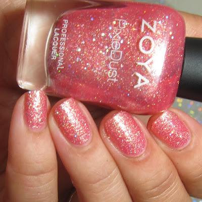 nail polish swatch of Zooey by zoya