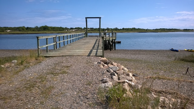 Dock at Choate Island