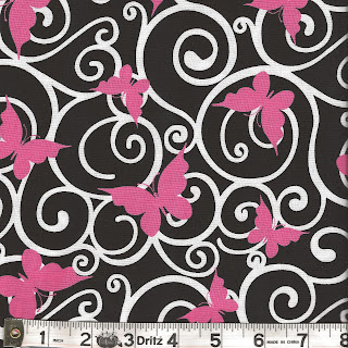 Windham RIBBONS OF HOPE Breast Cancer Awareness Quilt Fabric by Rosemarie Lavin