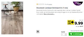 Laminaat Decomode vaste lage prijs
