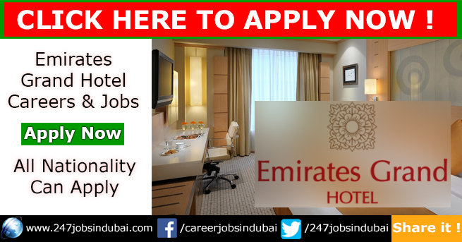 Staff Recruitment for Emirates Grand Hotel Jobs and Careers