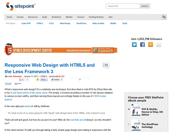 40+ Useful Responsive Web Design Tutorials
