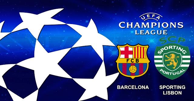 Barcelona vs Sporting Lisbon 6 Desember 2017