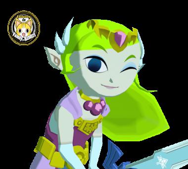 render Princesa Zelda