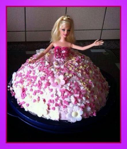 Meine Rezeptwelt Barbie Torte Barbie Yas Pasta