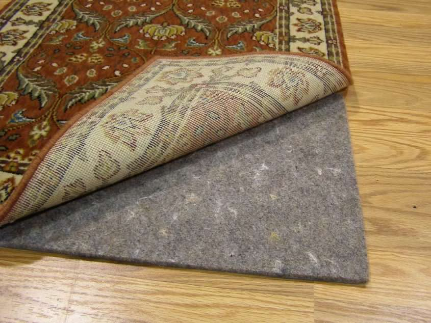 Synthetic Carpet Pad For Area Rugs Home Cheap Solution