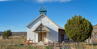 San Rafael RC Church, Trementina, New Mexico (San Miguel County)