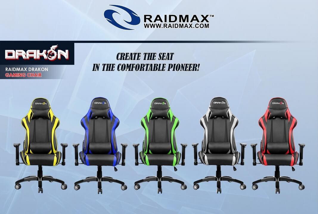 Raidmax Drakon DK706 Gaming Chairs
