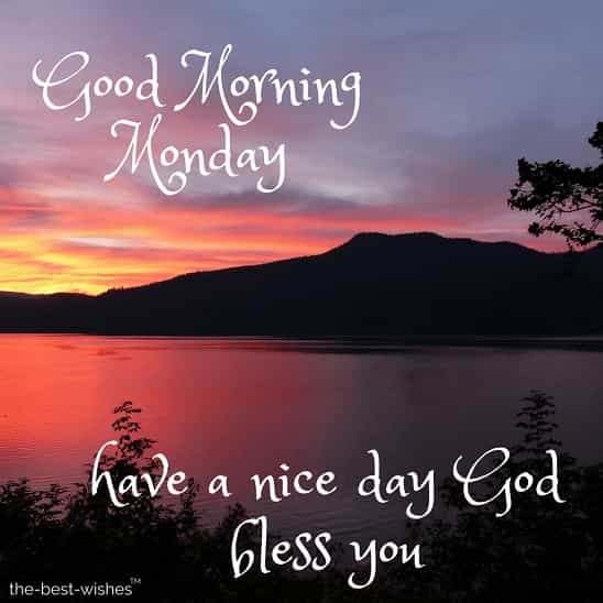 good morning hope everyone have a nice monday god bless you