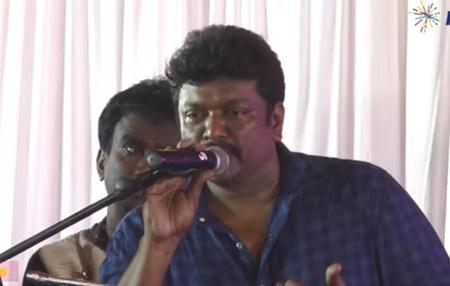 Parthiban Making Fun Of Bharathiraja Institute And Bharadhiraja