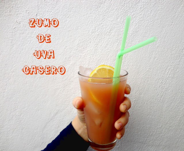 Zumo De Uva Casero