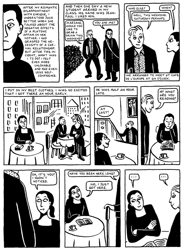 Read Chapter 7 - Hide and Seek, page 62, from Marjane Satrapi's Persepolis 2 - The Story of a Return