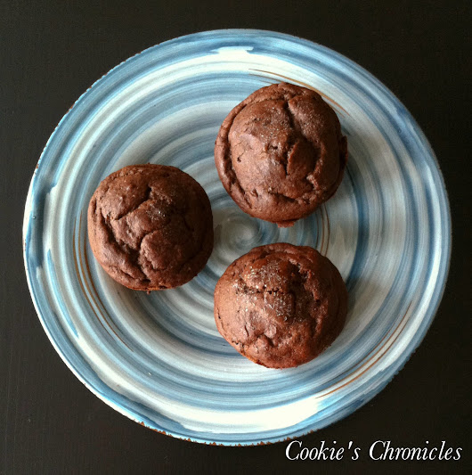 Cookie's Chronicles: Gluten-Free, Dairy-Free, Low Glycemic Chocolate-Chocolate Chip Cupcakes