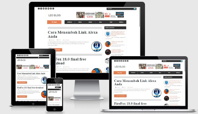 Terompah Responsive Blogger Template