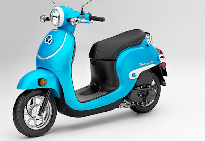 2016 Honda Metropolitan perl blue color