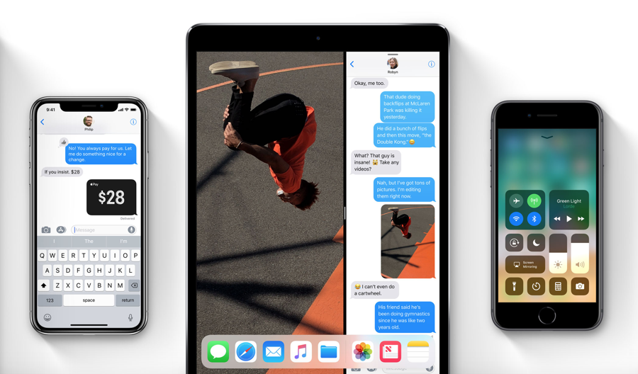 Download The New Ios 8 Wallpapers: Apple Releases IOS 11.2 Beta 1 W/ IPhone 8/X Marketing