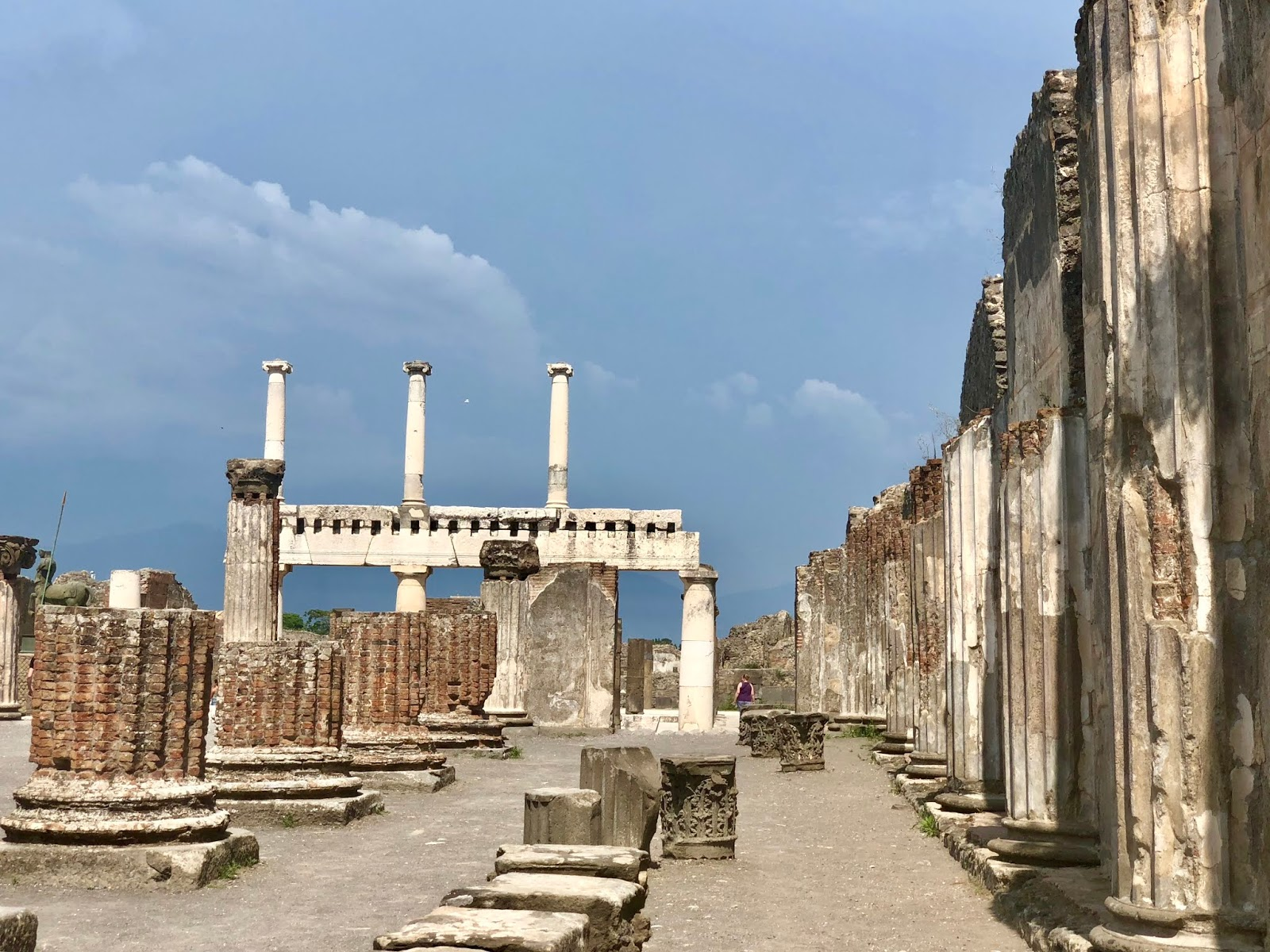 History Lesson Coming Up The City Of Pompei Was Mostly