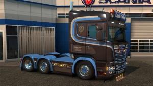 Scania RJL Edwin Salari R520 Metallic Skin