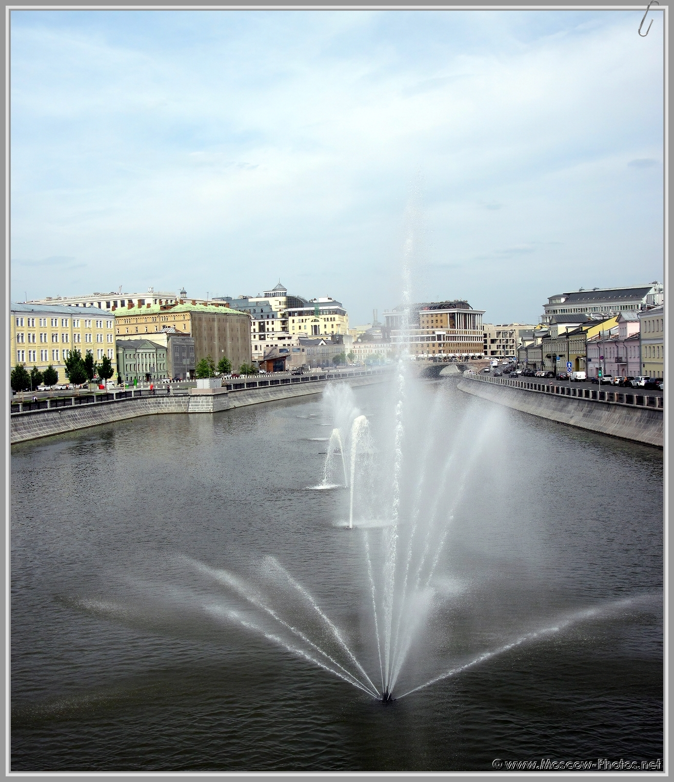 Fountains in Moscow