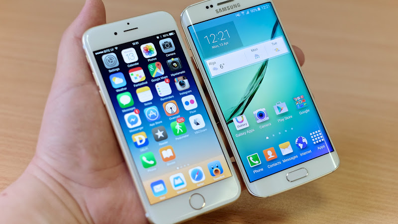 iPhone 6 Plus vs. Samsung Galaxy S6 Edge 3