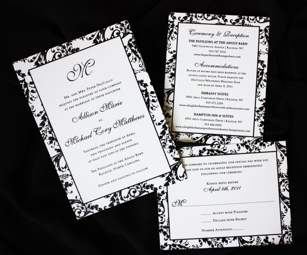 Evening Wedding Reception Invitations: Formal Wedding Invitations: What's Your Wedding Invitation