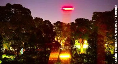 Russell Crowe Captures UFO on Camera at Sydney's Botanic Gardens 3-5-13