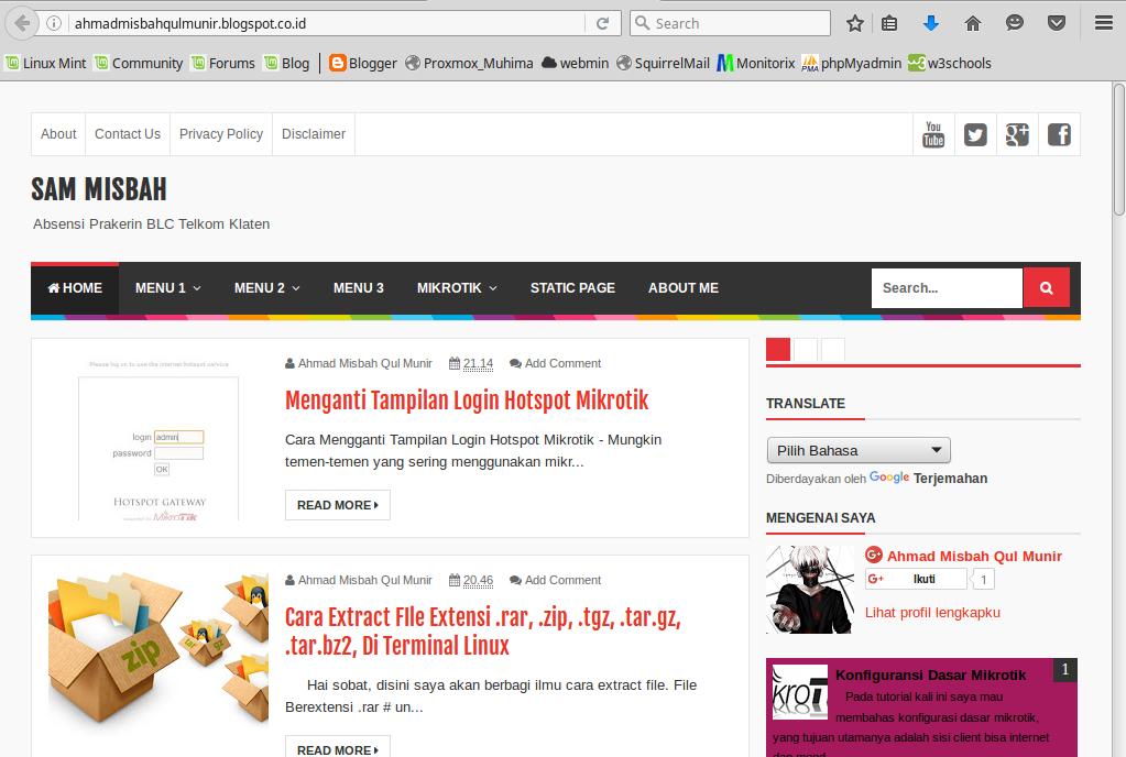 Blokir https dengan web proxy mikrotik
