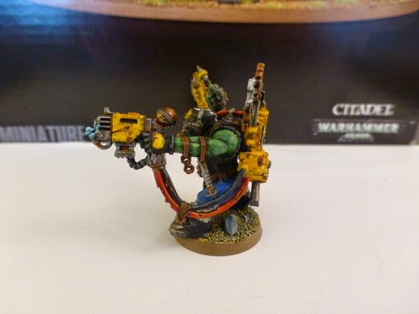 40k ork mekboy left