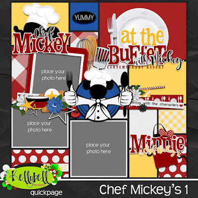 Chef Mickey's Quickpage 1