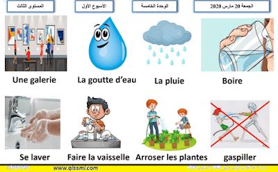 تمارين و دروس اللغة الفرنسية لتلاميذ المستوى الثالث