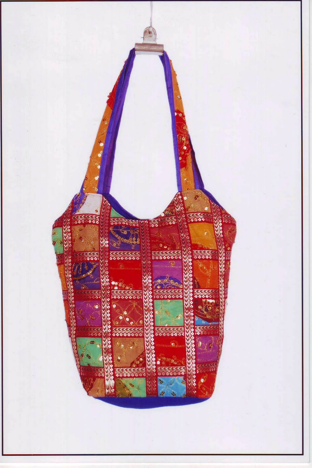 Paramhandicrafts Patchwork Bags And Purses