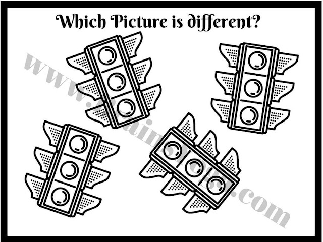 Which picture is different?