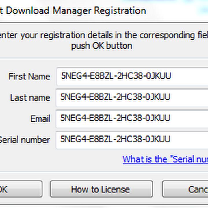 رقم التسلسلي internet download manager مدى الحياة