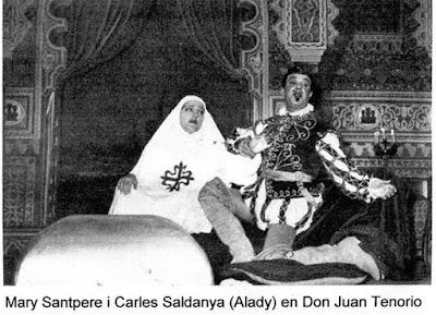 Resultat d'imatges de Don Juan tenorio alady mary santpere