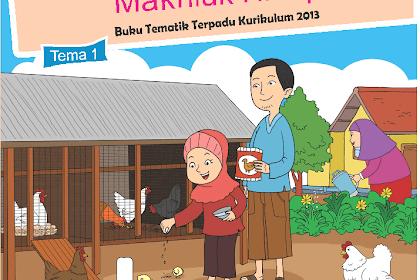 Buku Tematik Buku Siswa Kelas 2 SD / MI Tema 1 Pertumbuhan dan Perkembangan Makhluk Hidup Kurikulum 2013