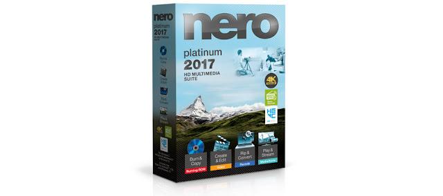 Baixar Nero 2017 Platinum 2017 + Crack