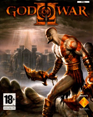 God of War 2 Cover