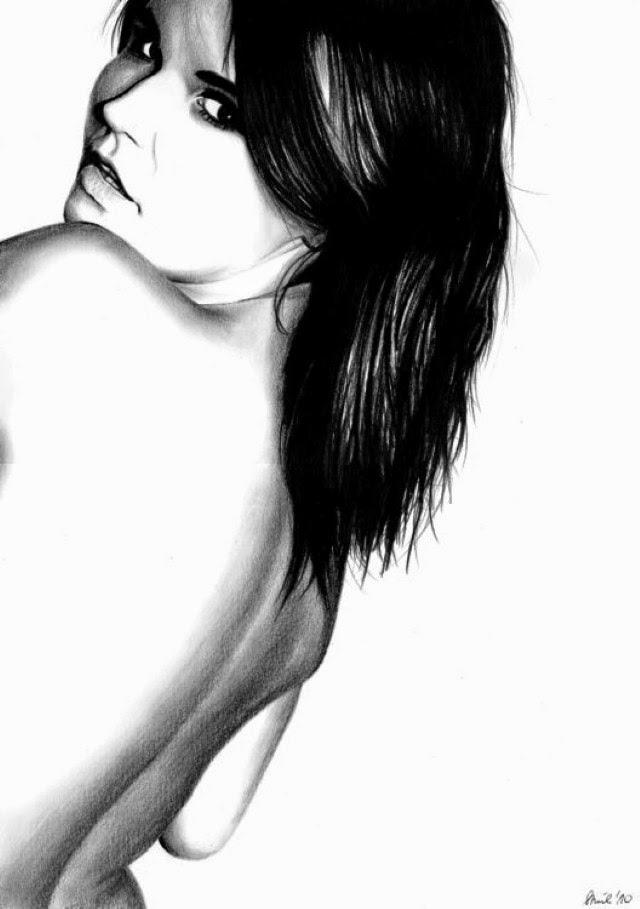 Эротические рисунки карандашом. Sara Stachowiak