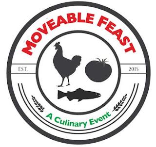 img  Kawartha Lakes Fleming College Moveable Feast logo features Chicken Fish