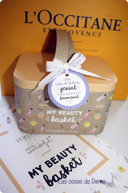 My Beauty Basket L'occitane Mr Wonderful