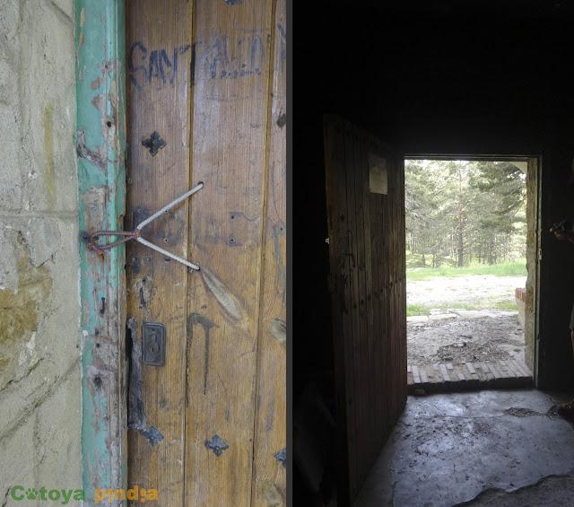 Refugio de la Chaparrilla en la ruta a Peñarroya.